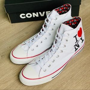 "NWT Converse Chuck Taylor All Star ""I Love NY"""